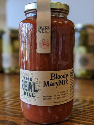 The Real Dill: Bloody Mary Mix (32oz)