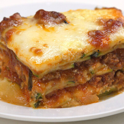 Gluten-Free Classic Lasagna w/ Italian Sausage