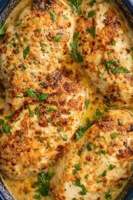 Baked Caesar Chicken - GF