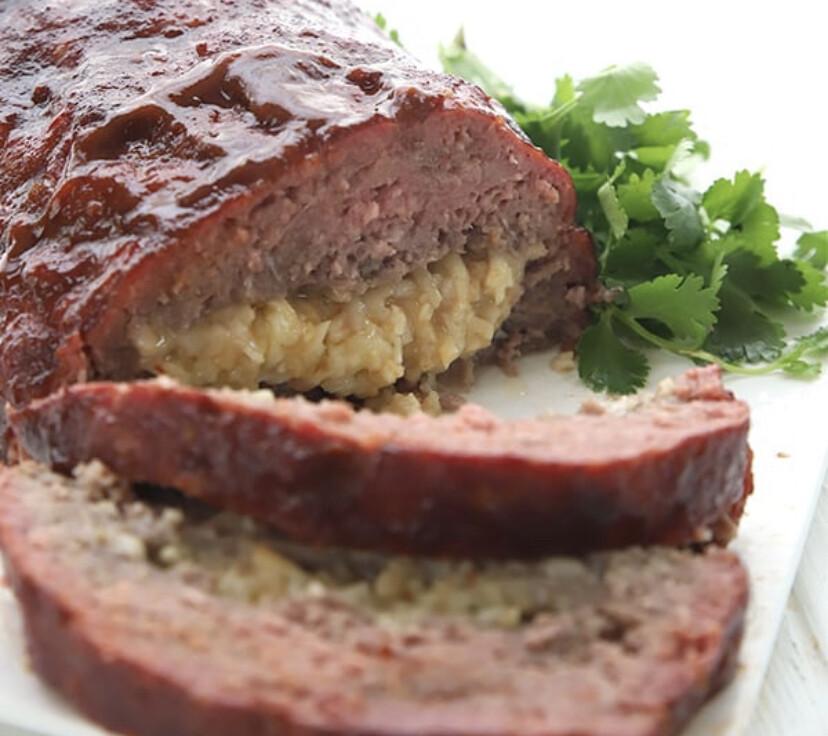Jacked Up Meatloaf