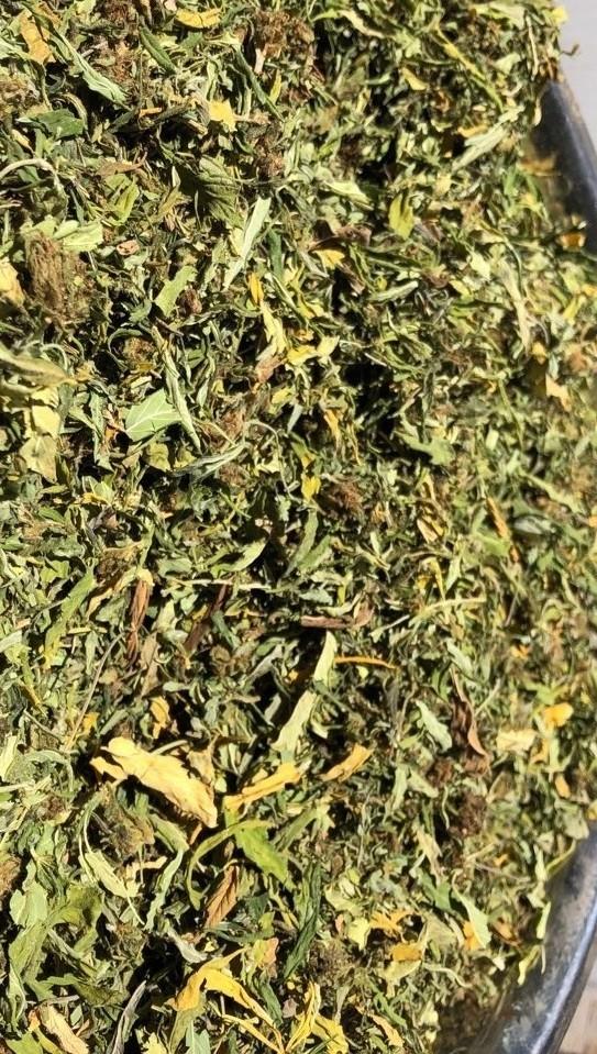 CBG Hemp Flower- Bucked, Untrimmed, Quick Dried (lb)