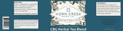 Wholesale-Repose CBG Hemp Flower Herbal Tea- 12/CASE