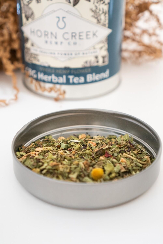 Whole Hemp Flower Herbal Tea Blend