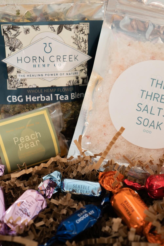 Sip & Soak Gift Pack