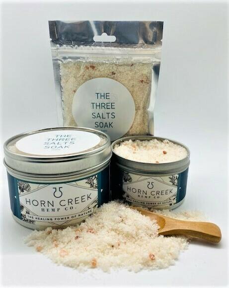Horn Creek Farm-Three Salts CBD Soak
