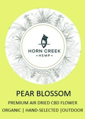 Pear Blossom Hemp Flower