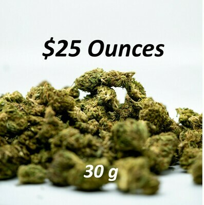 30 Gram Ounces- Multiple Cultivars
