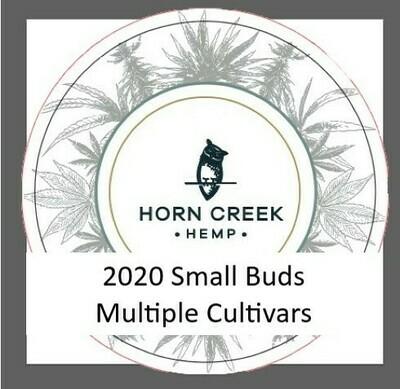 Multiple Cultivars- Hemp Flower Small Buds (lb)