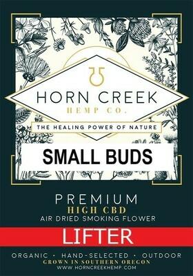 Lifter Hemp Flower - Small Buds  (lb)