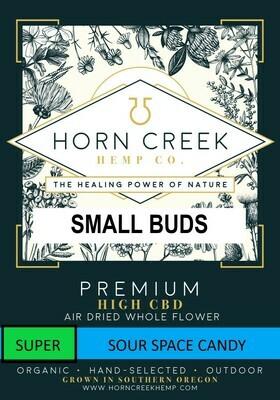 SUPER Sour Space Candy Hemp Flower-Small Buds