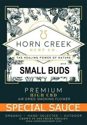 Special Sauce Hemp Flower- Small Buds (lb)