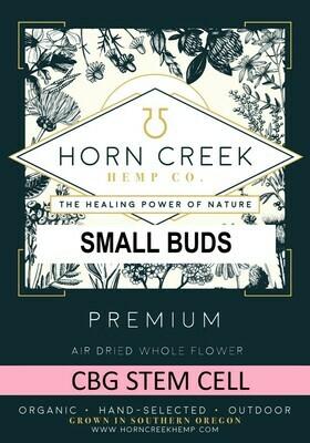 CBG Stem Cell Hemp Flower-Small Buds