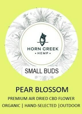 Pear Blossom Hemp Flower-Small Buds