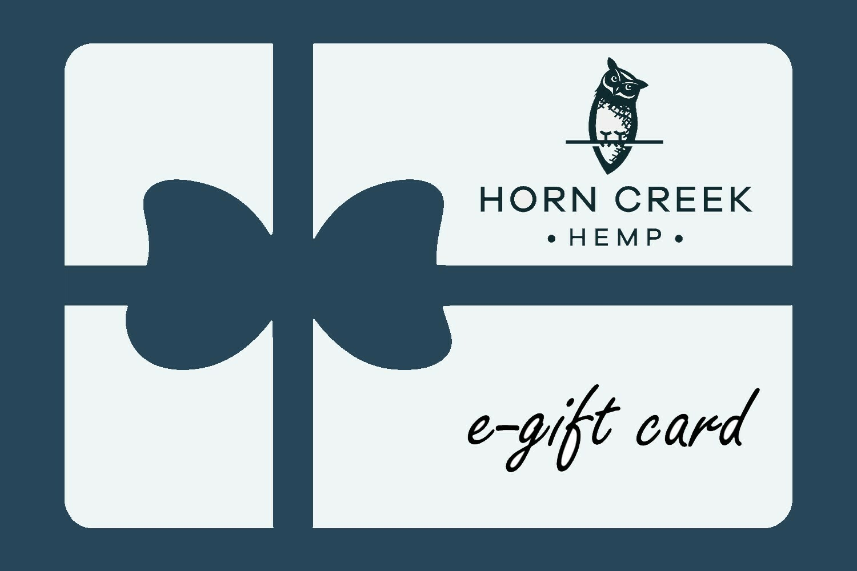 Horn Creek Farm Gift Card