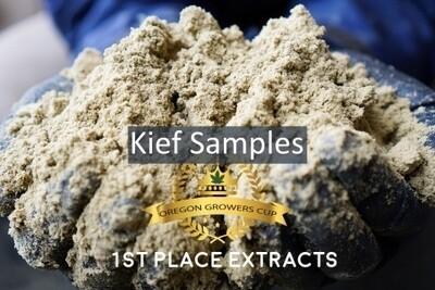 Hemp Kief Samples   Wholesale
