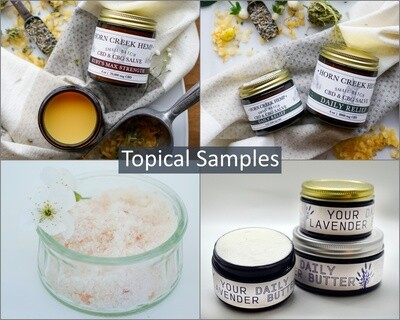 CBD Topical Samples | Wholesale
