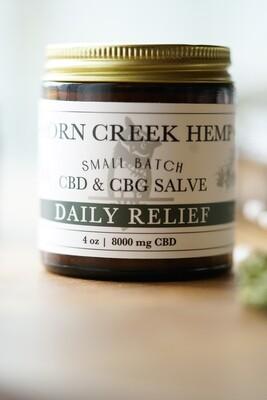 CBD & CBG Salve | Daily Relief 2000 mg | Wholesale