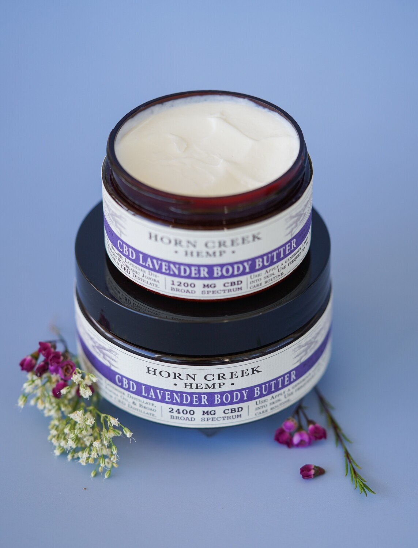 CBD Lavender Body Butter