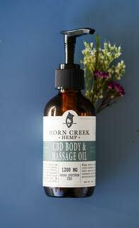 CBD Body & Massage Oil