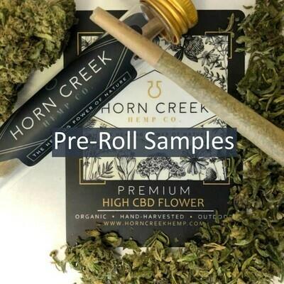 Hemp Pre-Rolls Samples | 1/2 gram | Wholesale
