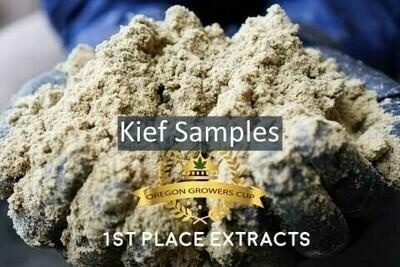 Hemp Kief Samples | Ounces | Wholesale