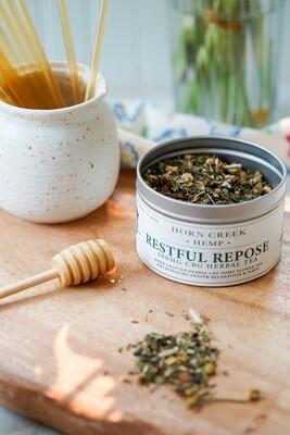 CBG Restful Repose Tea Blend