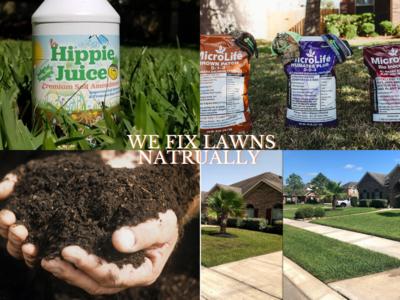 Lawn Restoration Package 1 cubic yard ts