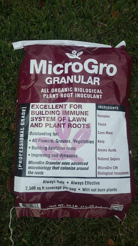 Micro Gro Granular 25 Lbs