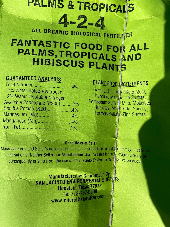 MicroLife 424 -Palm And Tropical Food