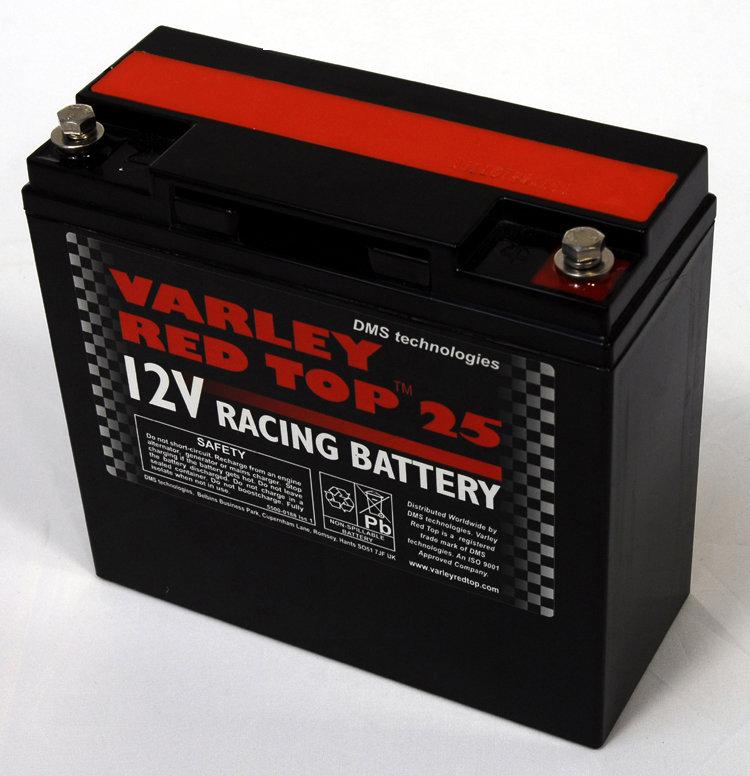 Varley Red Top 25 Racing Battery