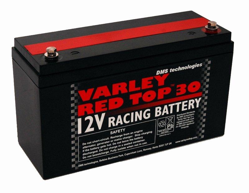 Varley Red Top 30 Racing Battery
