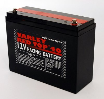 Varley Red Top 40 Racing Battery