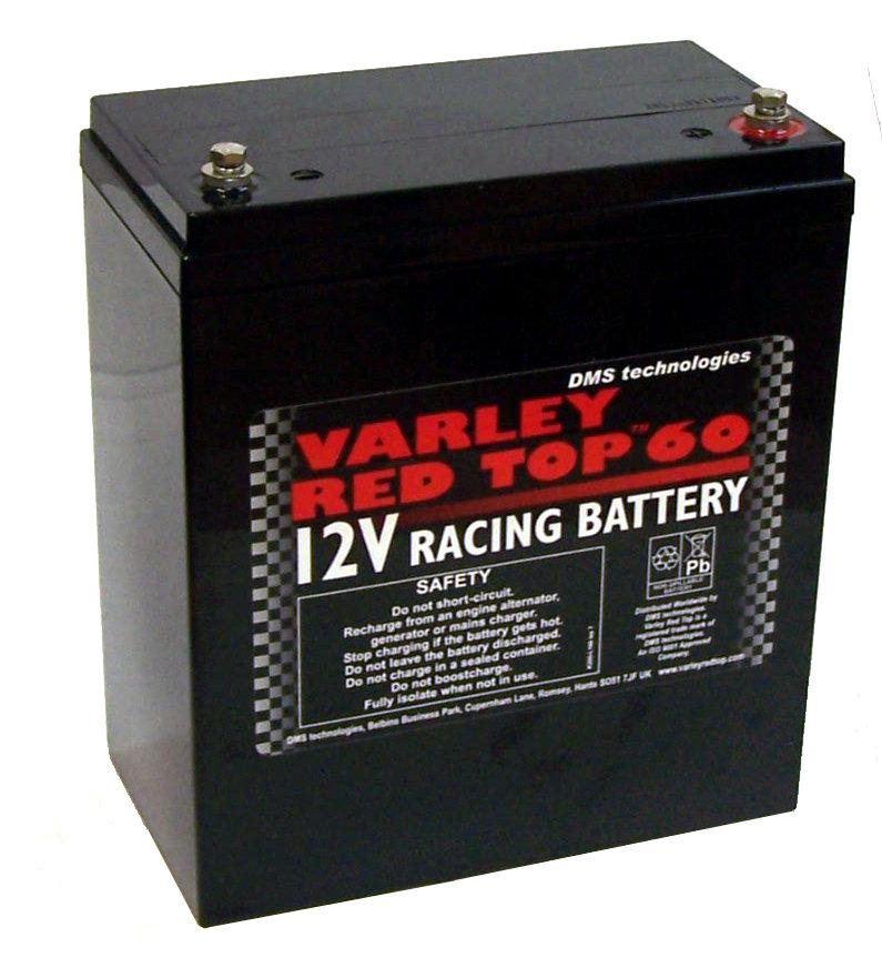 Varley Red Top 60 Racing Battery