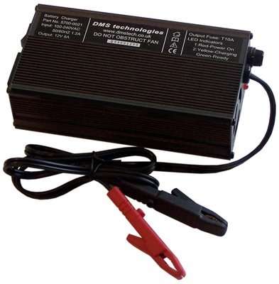 8A 3-stage charger
