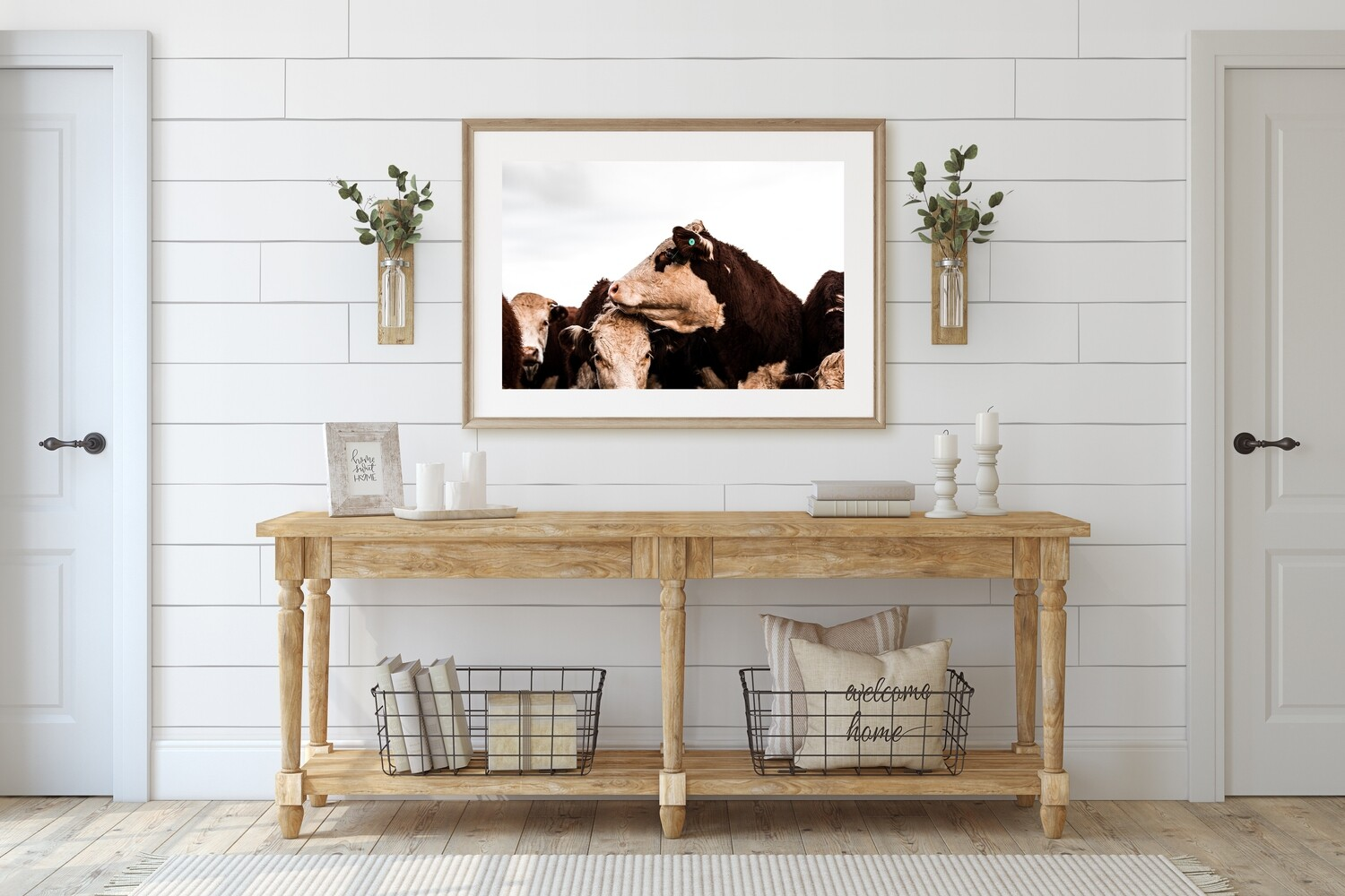 'Hereford Heifers' - Starting from $60
