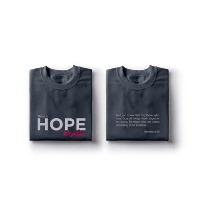Charcoal Sadie HOPE Shirt
