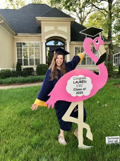 Graduation Lawn Sign Rental 00002