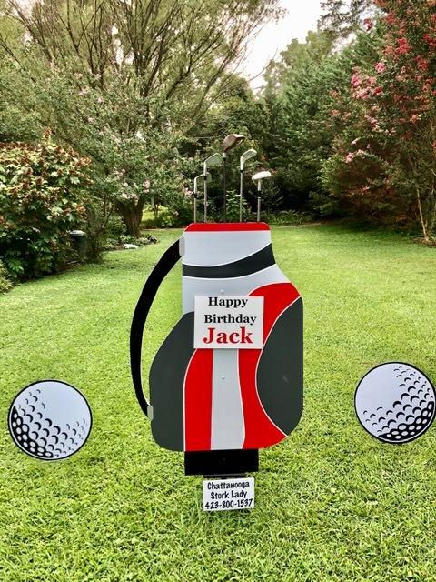 Golfer's Package Sign Rental 00010
