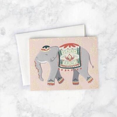 Lucky Elephant Card