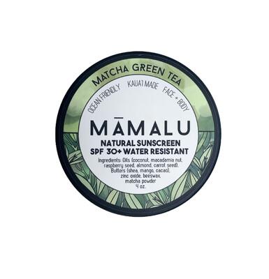 Matcha Green Tea Sunscreen
