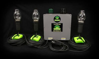 Classic Natural Green Triple-Light System