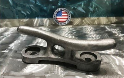 "12"" Solid Aluminum S Cleat - RAW"
