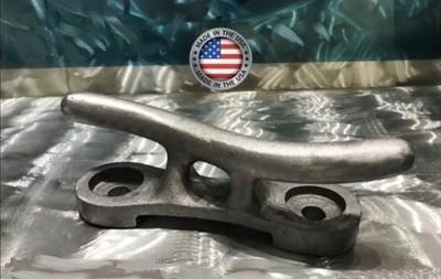 "15"" Solid Aluminum S Cleat - RAW"