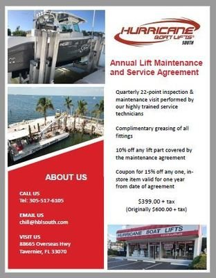 Annual Maintenance and Service Agreement