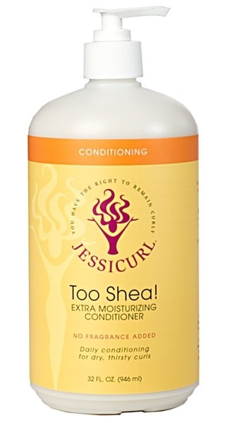 Jessicurl Too Shea! Extra Moisturising Conditioner 946ml (32oz) No Fragrance Added