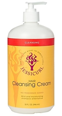 Jessicurl Hair Cleansing Cream 946ml Citrus Lavender