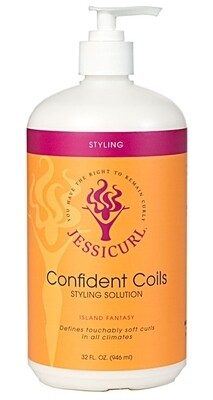 Jessicurl Confident Coils 946ml No Added Fragrance