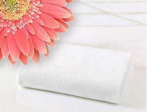 Microfibre Plunking Towel White