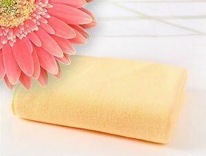 Microfibre Plunking Towel Apricot