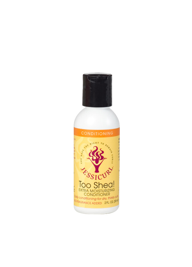 Jessicurl Too Shea! Extra Moisturising Conditioner 59ml No Fragrance Added